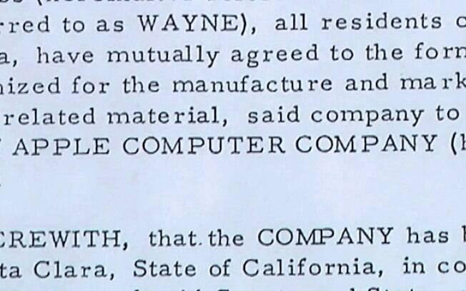 Contrato de Wayne, que renderia a ele cerca de US$ 60 bilhões hoje em dia