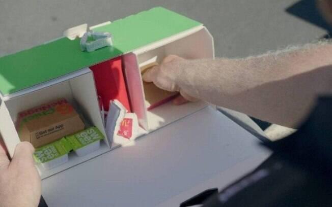 McDonald's testa entrega de lanches em drones do Uber Eats