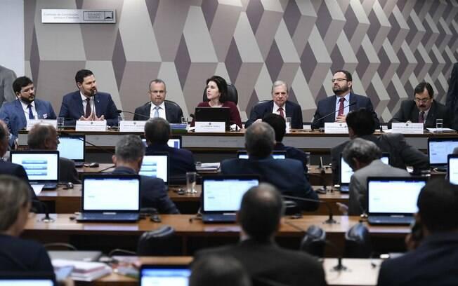 Rogério Marinho, secretário do ministério da economia, em discussão sobre a nova Previdência na CCJ do Senado