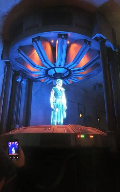 Holograma de Rey