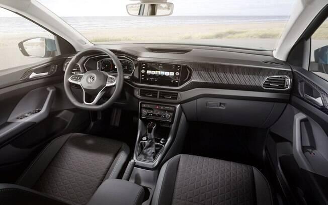 VW T-Cross, um dos principais lançamentos de 2019, terá câmbio automático de 6 marchas