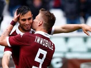 Ciro Immobile mais uma vez fez a diferença para o Torino neste Campeonato Italiano