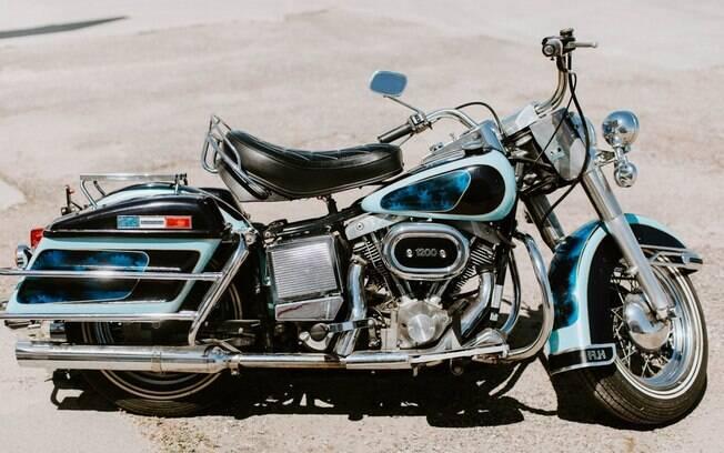 , Harley-Davidson de Elvis Presley é leiloada bem abaixo das expectativas, rtvcjs