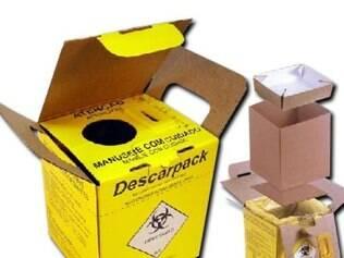 Este é o equipamento que deveria ter sido adquirido pela prefeitura para coletar materiais descartáveis