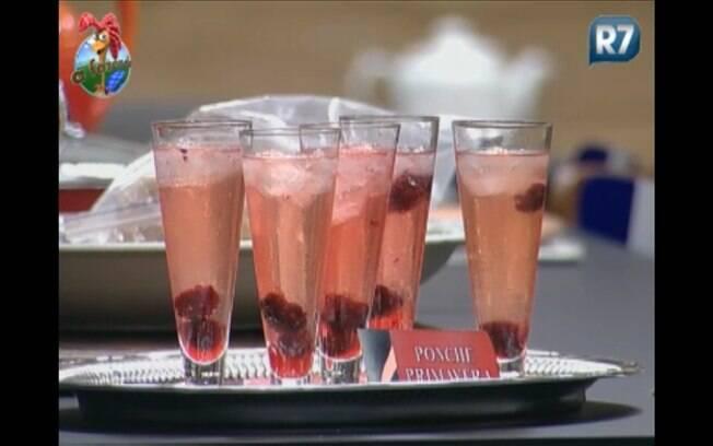 Bandeja de drinks é liberada antes da festa começar