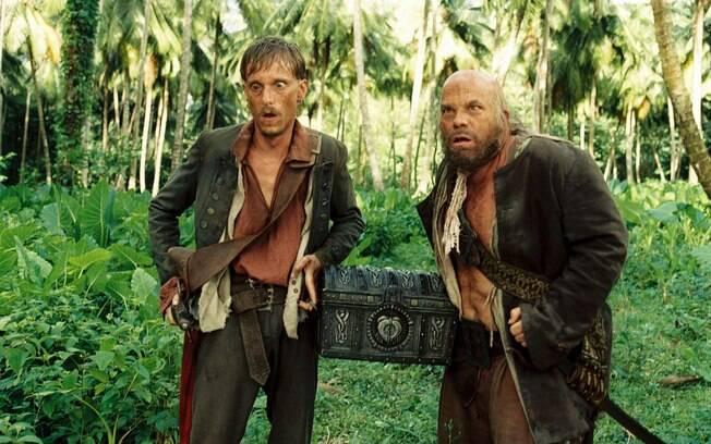Dupla de trapaceiros, Ragetti e Pintel fazem qualquer coisa para se darem bem na franquia de ''Piratas do Caribe''