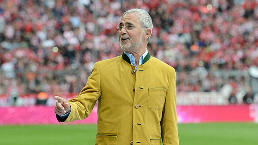 Gerd Müller foi artilheiro da Bundesliga em sete ocasiões; marcou 566 vezes pelo Bayern de Munique