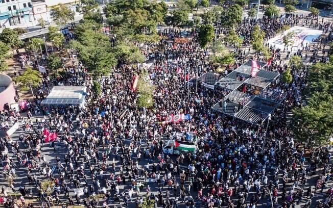 Manifestações como a de São Paulo ocorreram em outras cidades do País