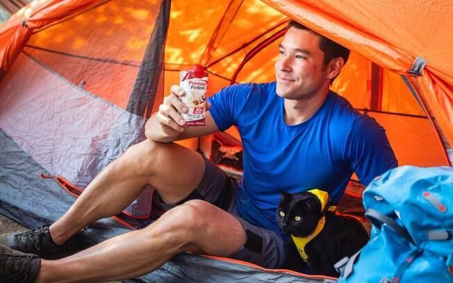 Yosh e Simon atravessaram o Colorado dormindo em barraca de acampamento