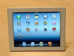 Novo iPad possui tela com resolução de 2.048 x 1.536 pixels