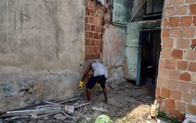 Pedreiro pôde ser contratado para reforma da casa com valor que já foi arrecadado