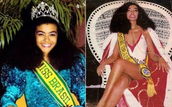 A gaúcha Deise Nunes foi a primeira negra a conquistar o título de Miss Brasil, em 1986