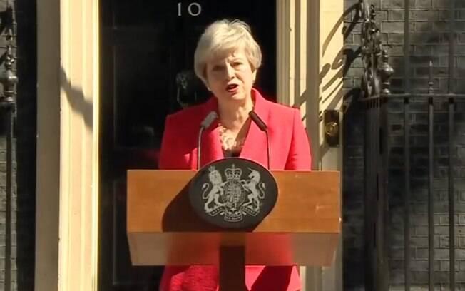 Theresa May deixou o cargo de primeira-ministra nesta quarta-feira