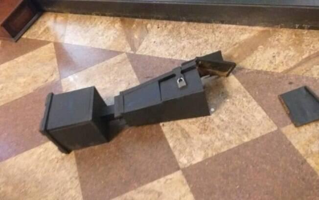 Cofre foi arrombado dentro de basílica