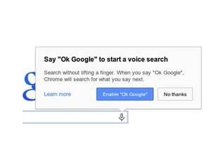 Chrome agora tem comando de voz