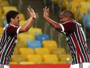 Conca e Walter anotaram seus gols na vitória do Fluminense contra o Friburguense
