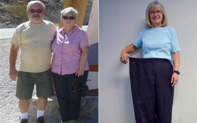 Terry Reuer conta como conseguiu emagrecer mais de 36 kg depois de passar dos 60 anos