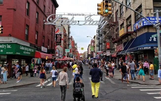 O bairro de Little Italy em Nova York está perdendo seu lugar para estabelecimentos de outras culturas