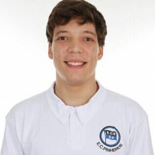 O esgrimista Nicolas Ferreira