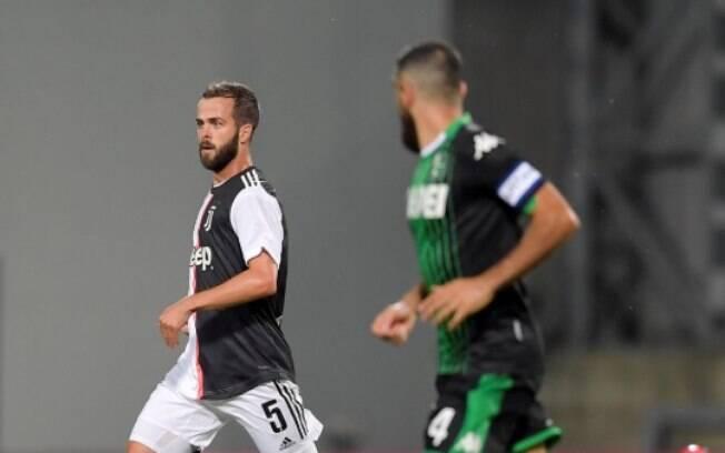 Juventus e Sassuolo empataram em 3 a 3
