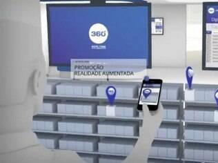 Com recurso de Realidade Aumentada, 360 Realtime exibe ofertas no celular do usuário