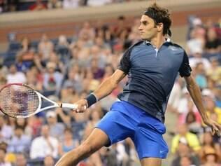 Federer avançaou com tranquilidade e segue em busca do sexto título do US Open