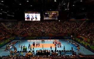 Seleção brasileira masculina de vôlei sentado estreia com vitória no Rio