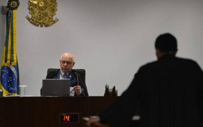 O ministro do STF Teori Zavascki: ele foi um dos magistrados favoráveis à liberdade dos presos