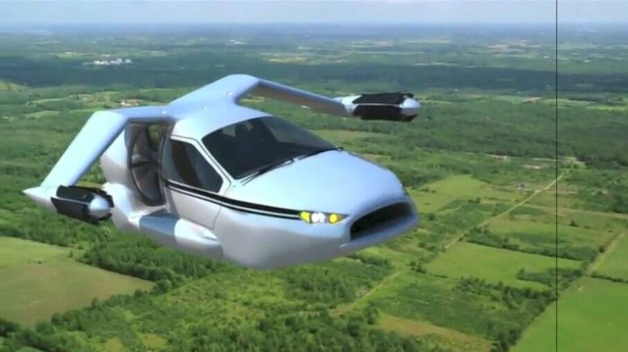 TF-X, da Terrafugia, empresa de Massachusetts (EUA) que projeta carro voador