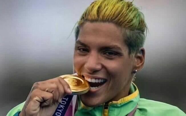 Ana Marcela deu show nas Olimpíadas