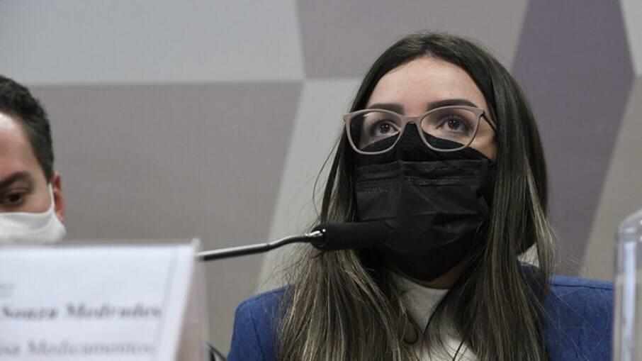 Manuela Medradas na CPI da Covid-19