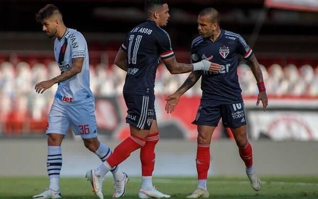 São Paulo e Vasco ficaram no empate no Morumbi