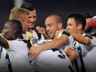 Udinese segue em ascensão no Campeonato Italiano