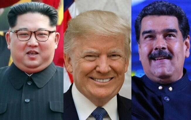 Enquanto Trump se reuniu com Kim nessa semana, pedido de conversa por Maduro foi rejeitado pelos EUA
