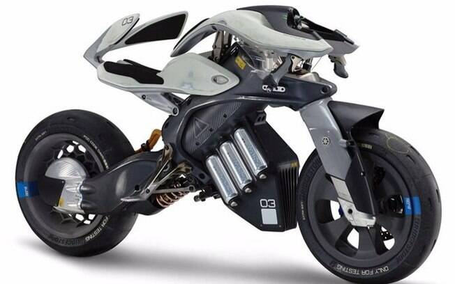 Yamaha MOTOROiD: modelo futurista é um protótipo que vai poder interagir com o piloto, de acordo com a fabricante