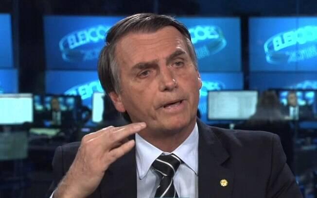 Bolsonaro foi entrevistado pelos apresentadores do Jornal Nacional
