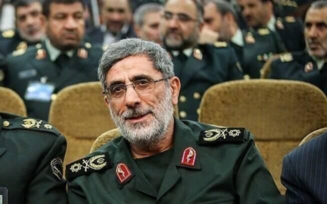 Esmail Ghaani, sucessor de general iraniano morto pelo EUA