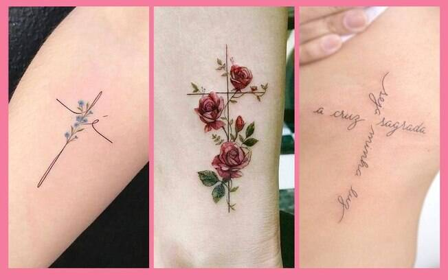 Tatuagem de cruz: 12 opções cheias de significado para se inspirar