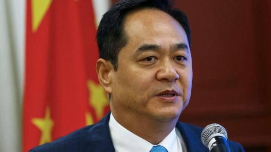 Yan Wanming, embaixador da China