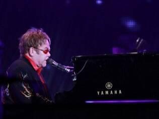 Elton John mudou de nome. O roqueiro nasceu Reginald Kenneth Dwight