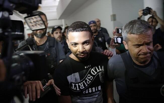 Rogério 157, preso em dezembro de 2017, assumiu o comando da favela da Rocinha em setembro do ano passado