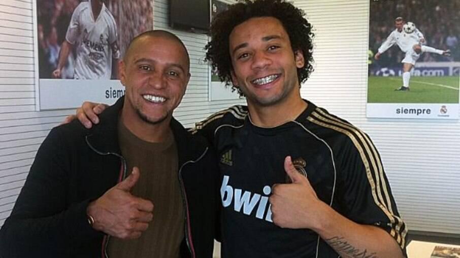 Roberto Carlos e Marcelo