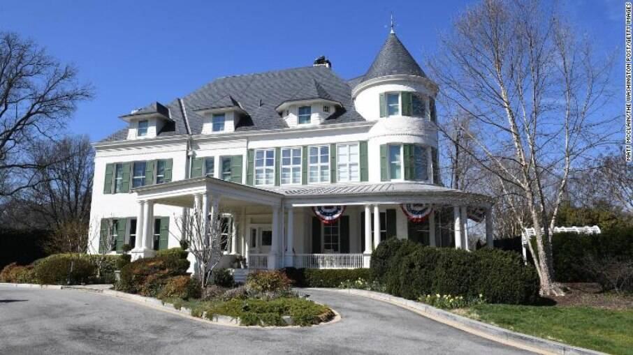 Residência oficial da vice-presidente dos EUA, Kamala Harris