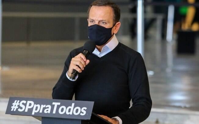 AO VIVO: Governo de SP atualiza informações sobre o combate a covid-19