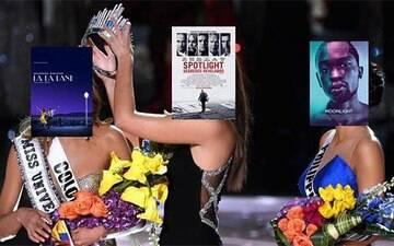 Gafe durante a entrega do Oscar quebra a internet e gera memes