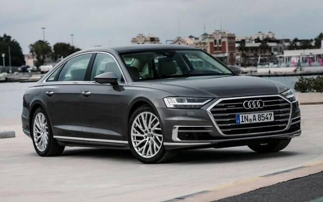Audi A8 tem nível três de tecnologia autônoma entre as marcas de carro