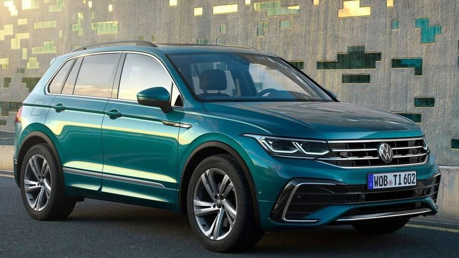 VW Tiguan 2022 continuará sendo importado do México, com chances de ter nova versão híbrida