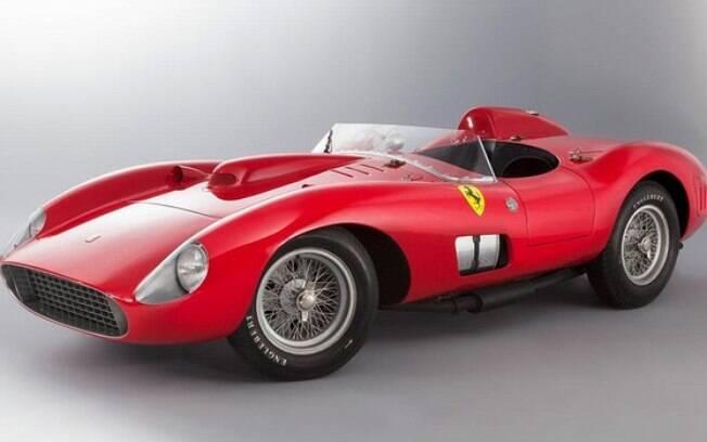 Ferrari 335 Spyder Scaglietti de Messi ocupa o posto de carro mais caro a ter sido arrebatado em um leilão na história