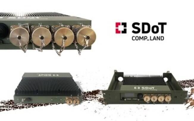 INFODAS lança solução tática de domínio cruzado COMP-LAND para conectividade altamente segura em ambientes extremos