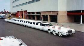 Limusine de 30,5 m é um dos maiores veículos do mundo